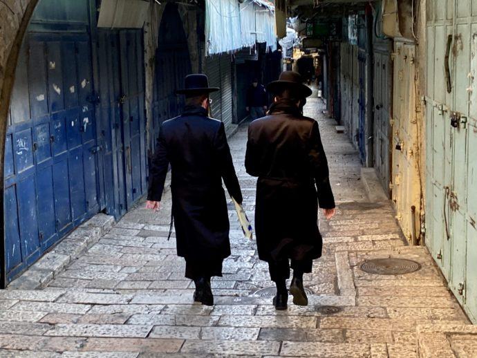 超正統派のユダヤ教徒男性