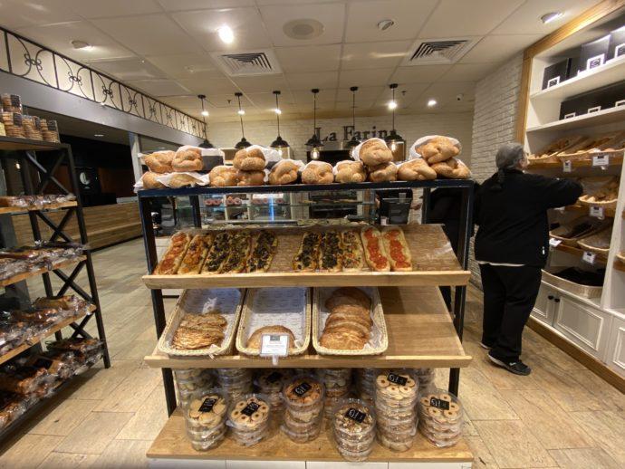 テルアビブ空港のパン屋さん