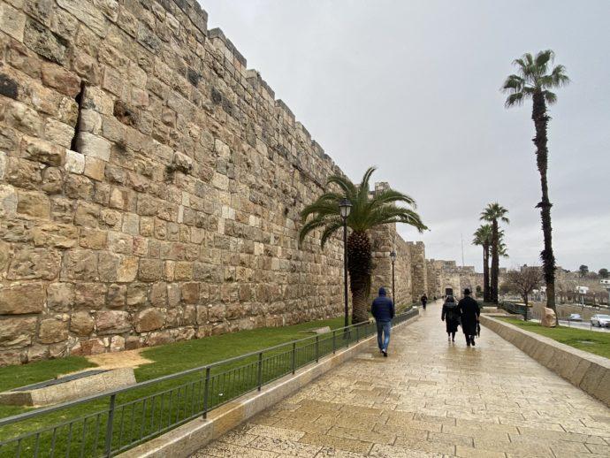 エルサレム旧市街の城壁