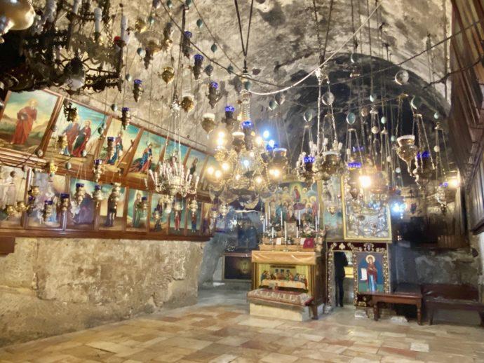 マリアの墓の教会の内部