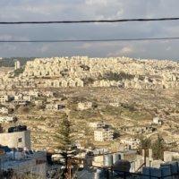 パレスチナ自治区のユダヤ人居住区