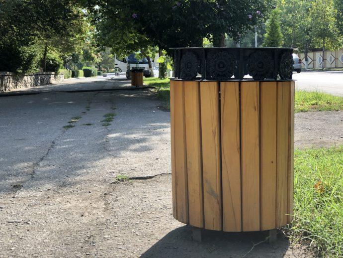 エレバンのゴミ箱