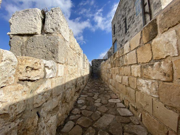 城壁めぐりのコース