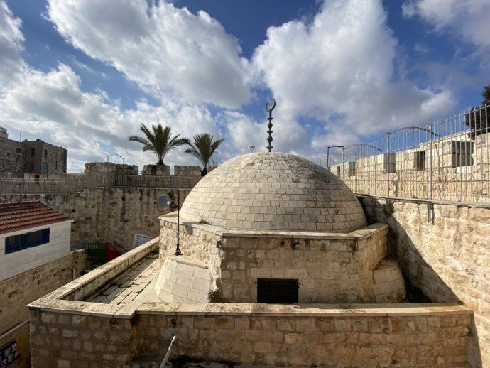 イスラム地区の丸いドーム