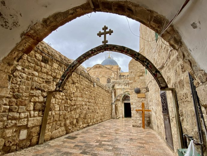 聖コプト教会入り口
