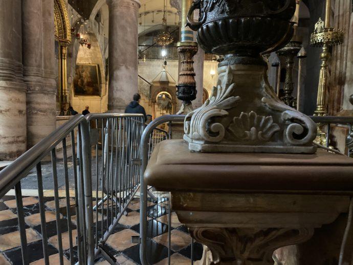 聖墳墓教会の入場待ち