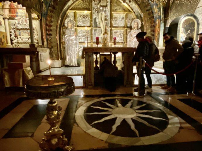 聖墳墓教会の2階