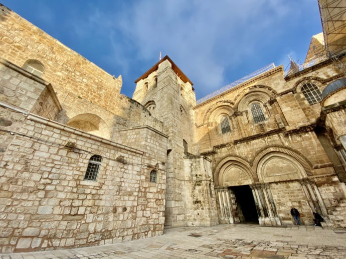聖墳墓教会の外観