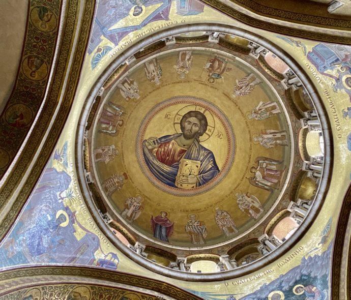 イエスの墓の上の天井画