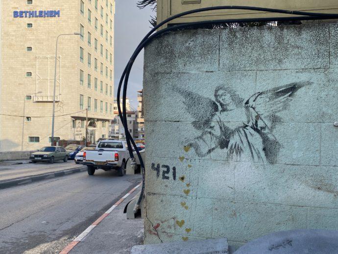 ハートを落とす天使