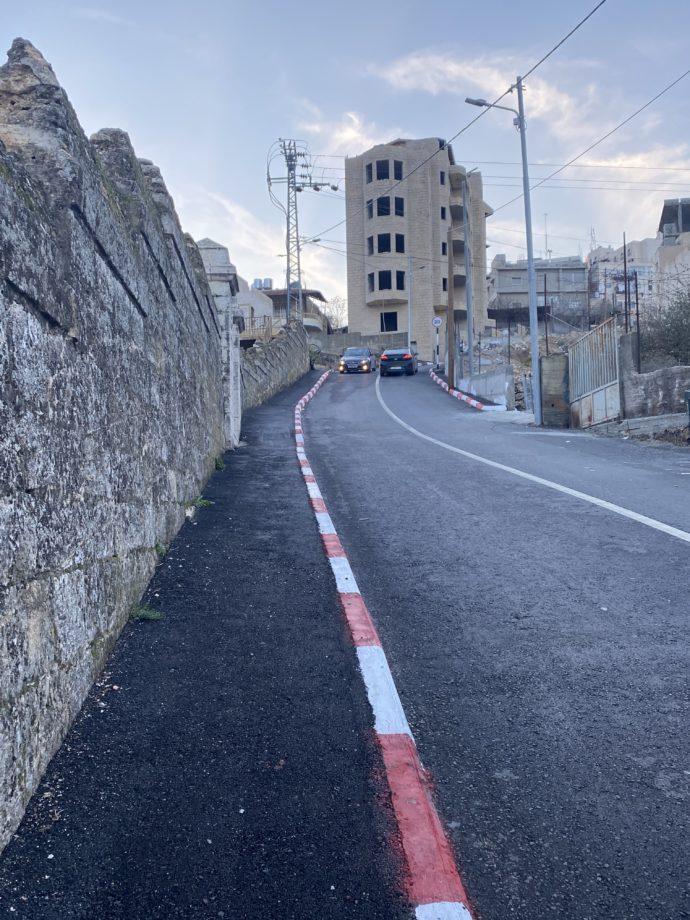 ベツレヘムの道路