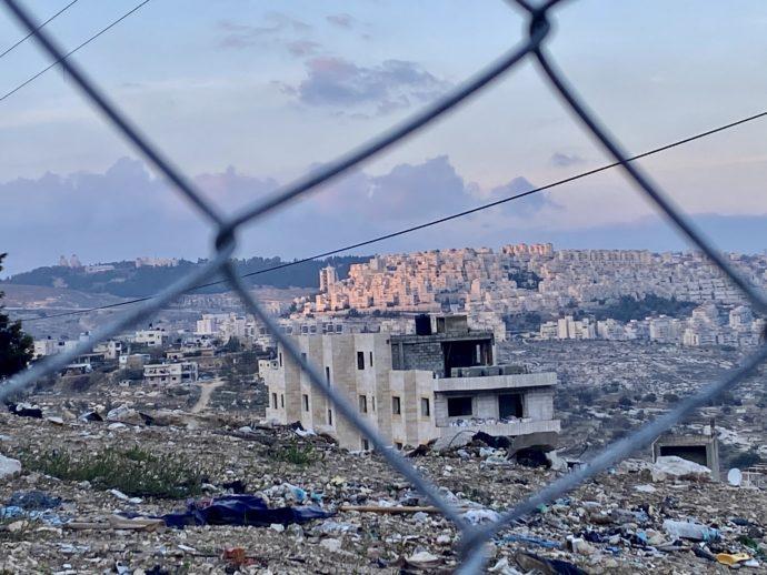夕暮れどきのユダヤ人居住地区
