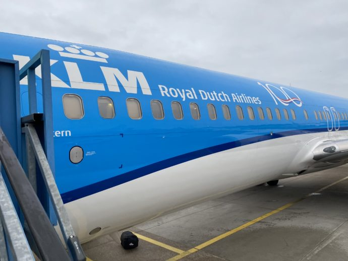 KLMオランダ航空の機体/
