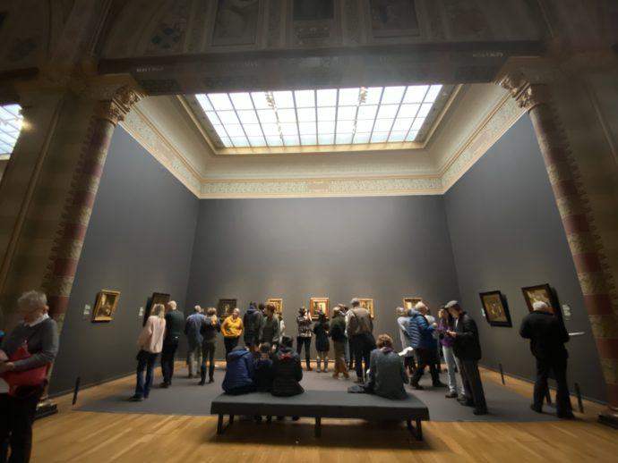 アムステルダム国立美術館のフェルメール展示室