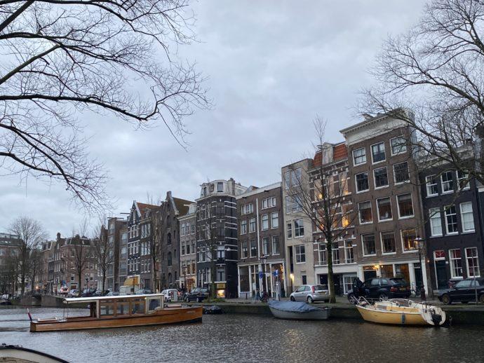アムステルダムの街並