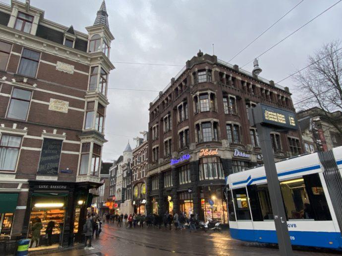アムステルダムの街角