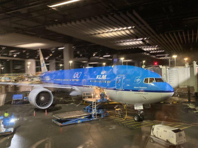 KLMオランダ航空の機体