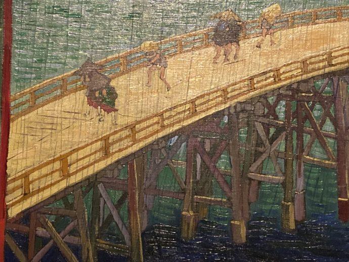ゴッホによる葛飾北斎の模写