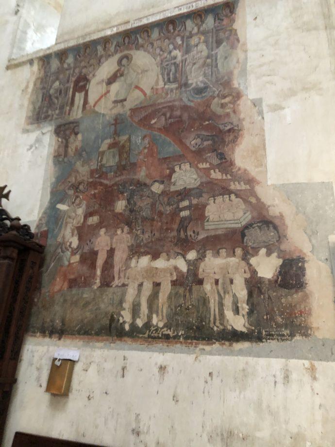 アヌメリ教会の壁画