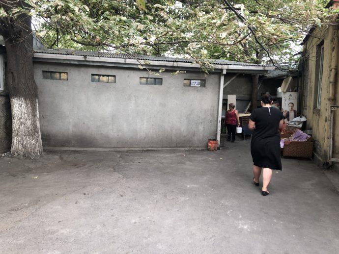 Didube駅のトイレ