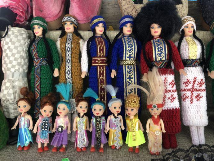 ロシアっぽいバービー人形