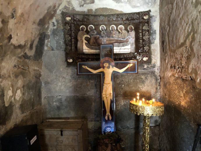 ラマリア教会のイエス像