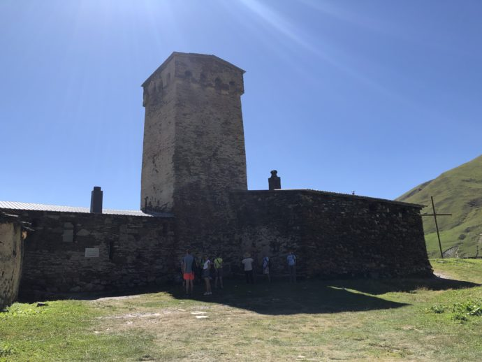 ウシュグリのラマリア教会