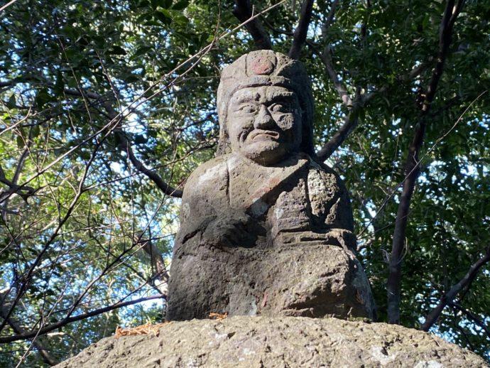 向山神社の石仏