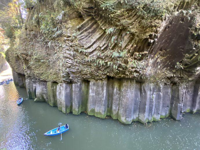 屏風岩と貸しボート