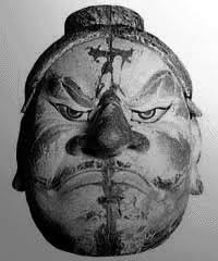 アテルイ悪路王首像