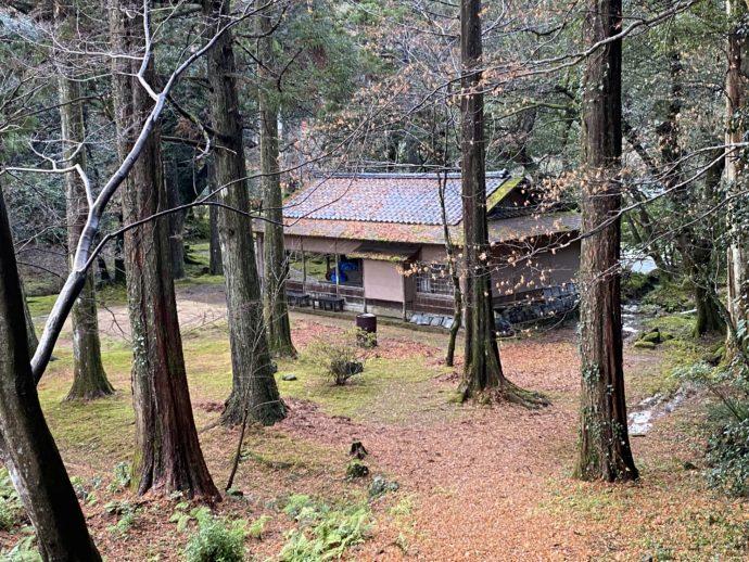 那谷寺の紅葉茶寮