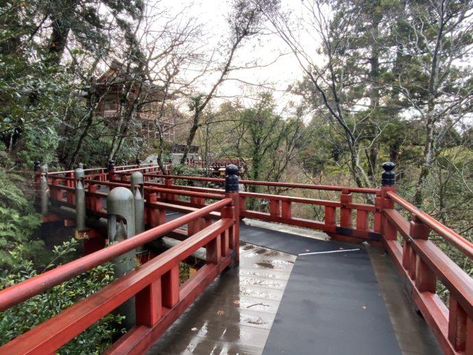 那谷寺の楓月橋
