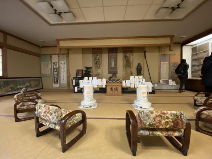 願慶寺の法話室
