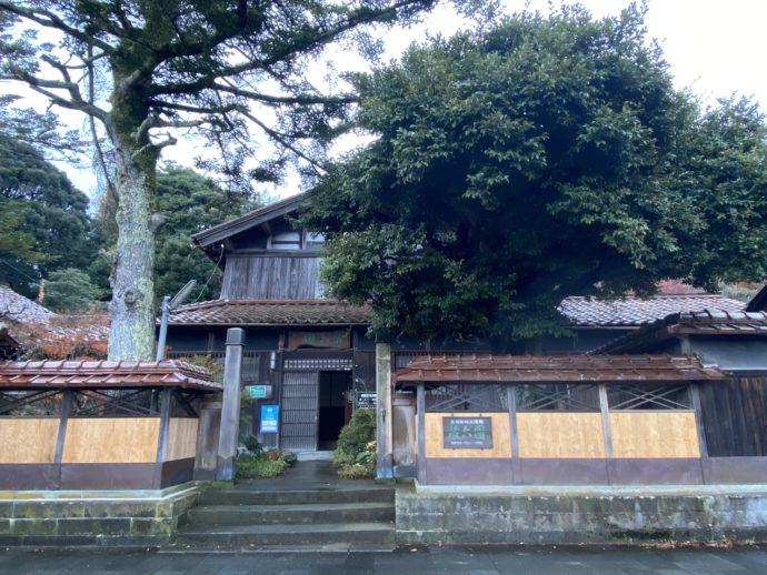 北前船主屋敷 蔵六園の外観