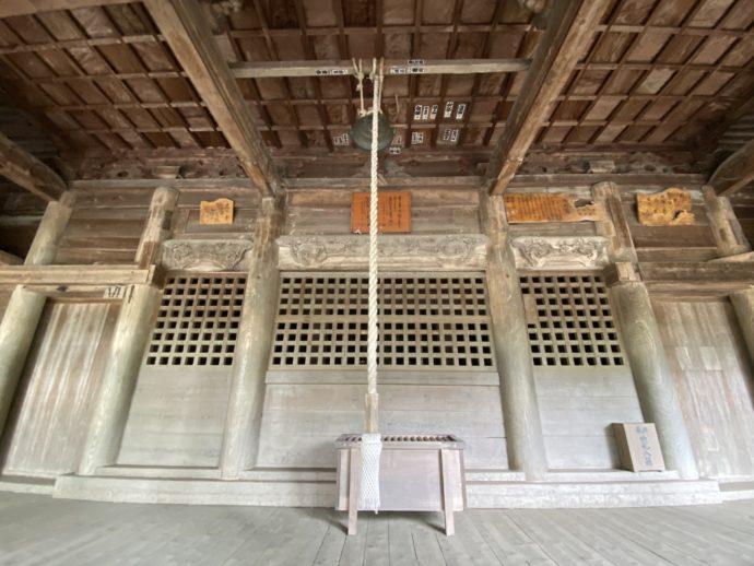 黒石寺の本堂