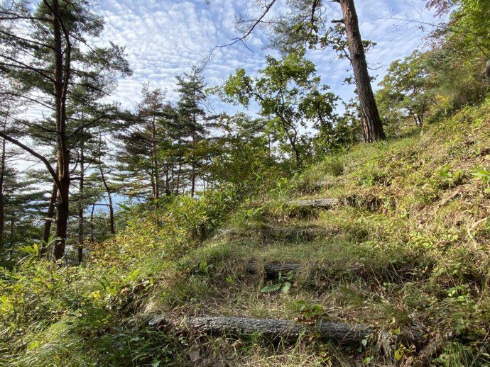大師山の階段