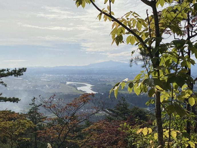 大師山の山頂から眺める景色
