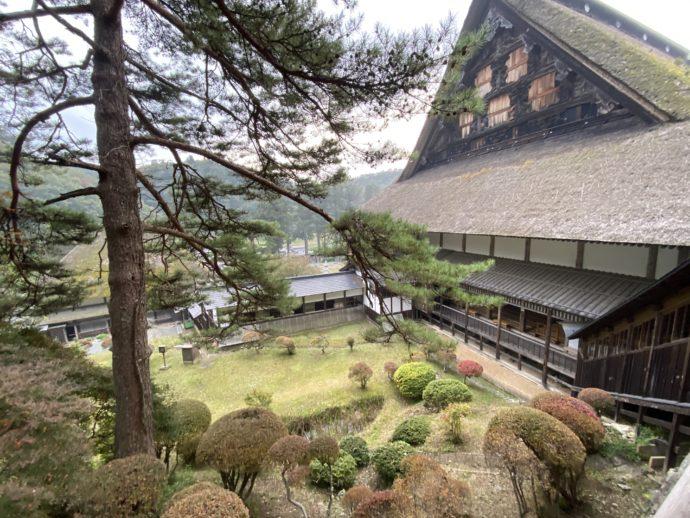 正法寺の美しい庭