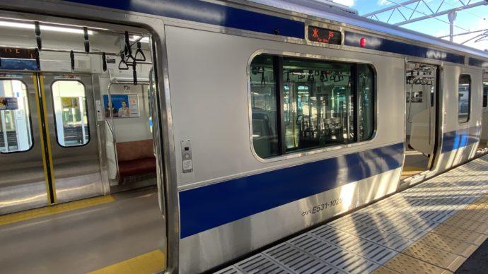 JR常磐線の車両