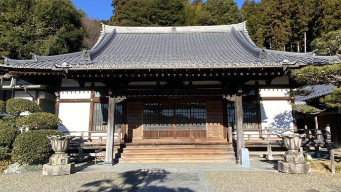願成寺の本堂
