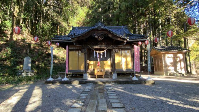 白水常盤神社