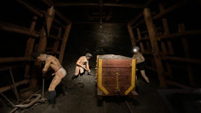 いわき市石炭・化石館 ほるるの石炭蝋人形