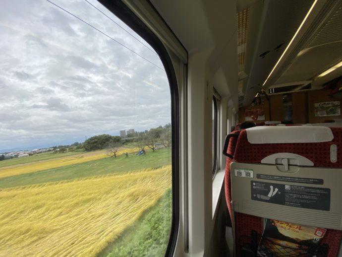 新幹線つばさからの車窓