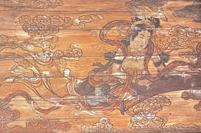 慈恩寺の天女奏楽図