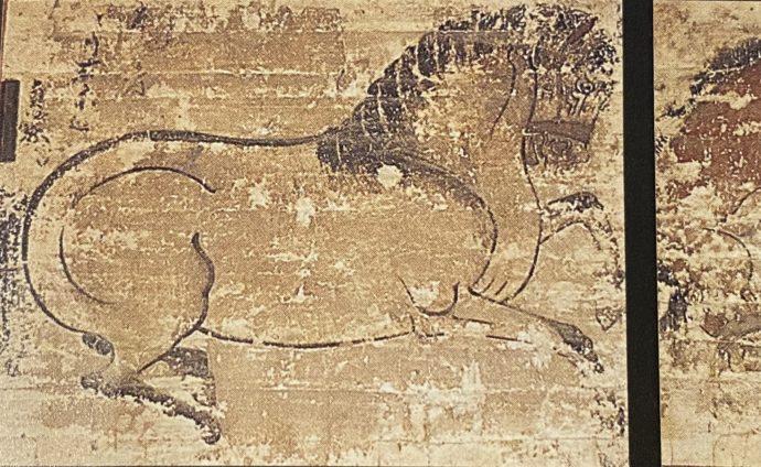 慈恩寺の郷目貞繁筆絵馬