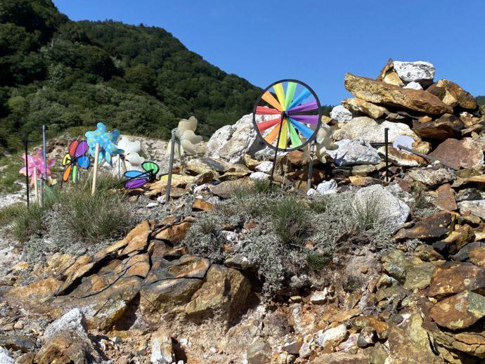 恐山の風車