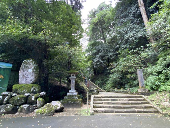 安来清水寺の参道入り口