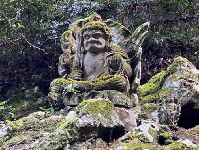 安来清水寺の不動岩王