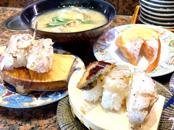 すし弁慶の寿司