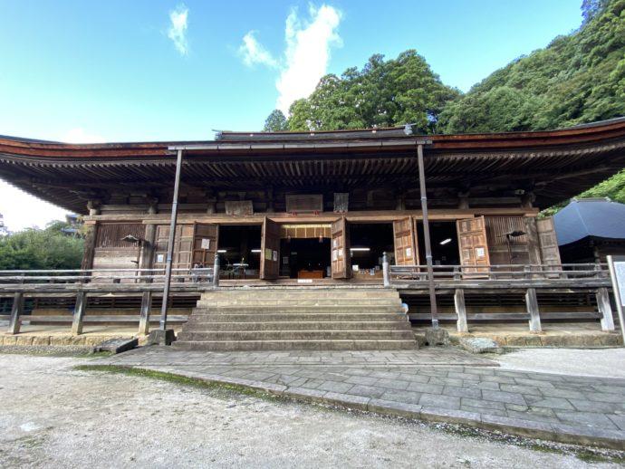 安来清水寺の根本堂